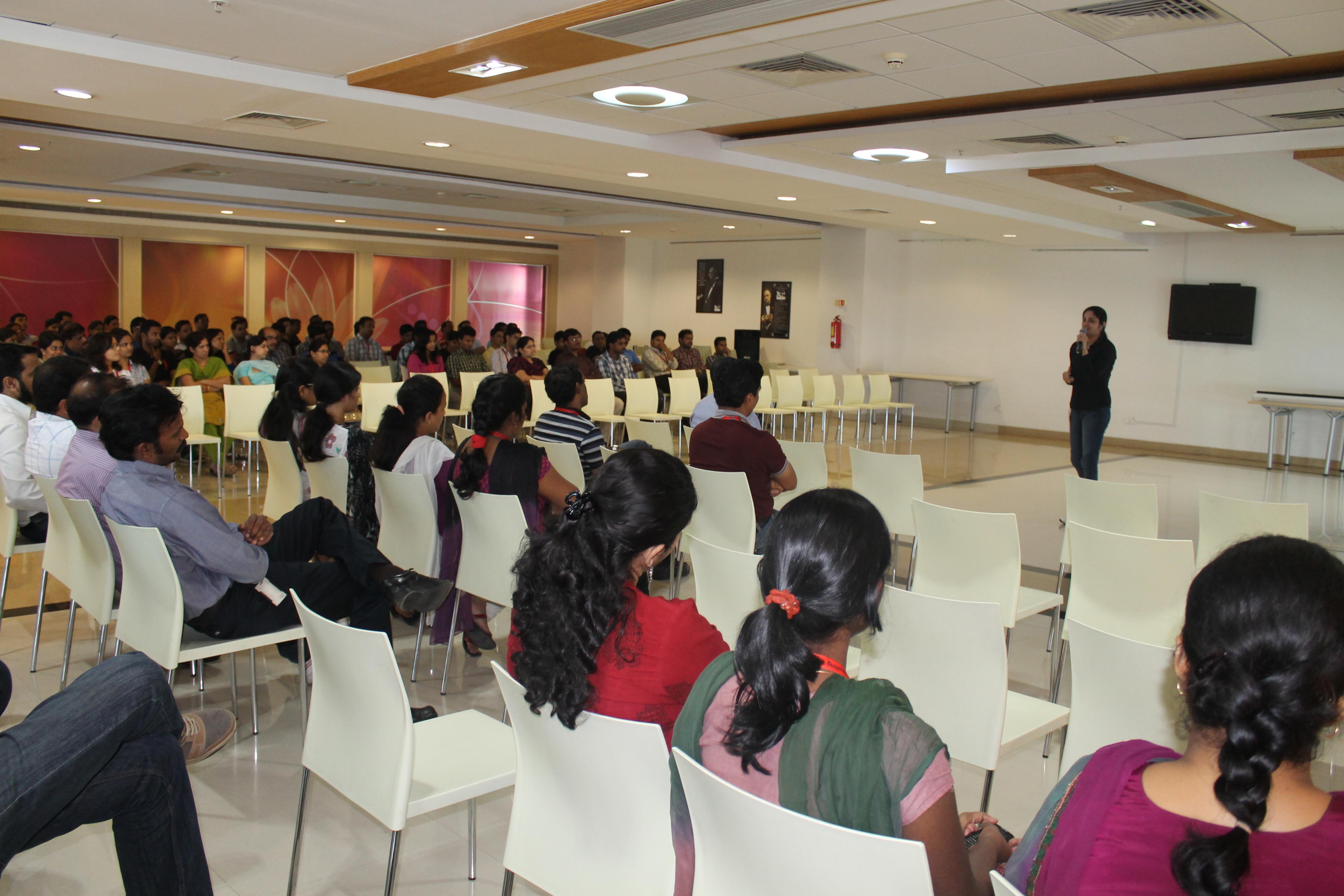 Event-Author talk at Hitachi Consulting   Astha Suneja